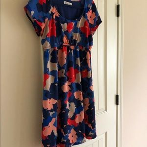Old Navy Maternity Dress Multi Color Floral